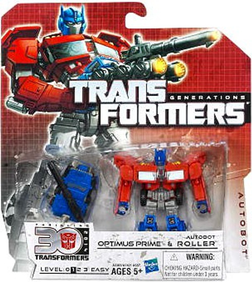 Transformers Generations 30th Anniversary Legends Optimus Prime & Autobot Roller Legend Action Figure 2-Pack