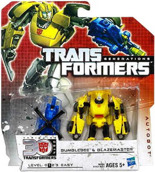 Transformers Generations 30th Anniversary Legends Bumblebee & Blazemaster Legend Action Figure 2-Pack