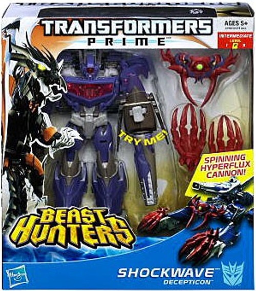 Transformers Prime Beast Hunters Shockwave Voyager Action Figure