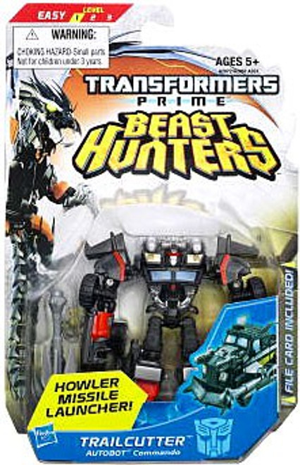 Transformers Prime Beast Hunters Trailcutter Commander Action Figure
