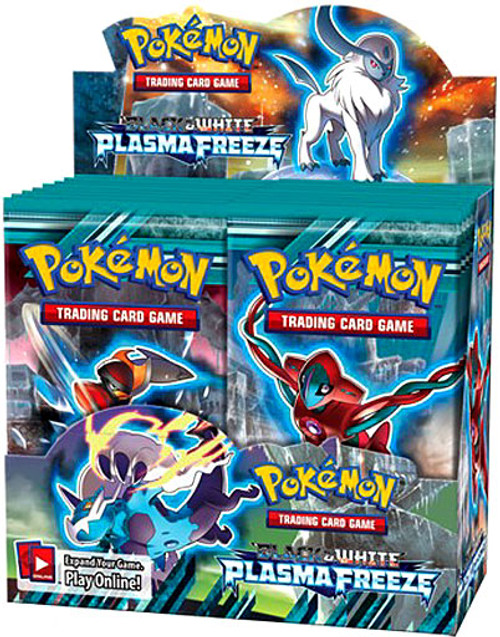 Pokemon Trading Card Game Black & White Plasma Freeze Booster Box [36 Packs]