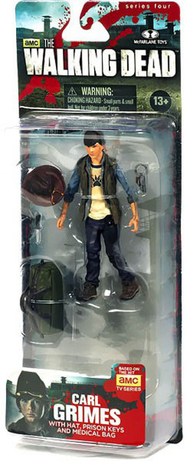 McFarlane Toys The Walking Dead AMC TV Series 4 Carl Grimes Action Figure