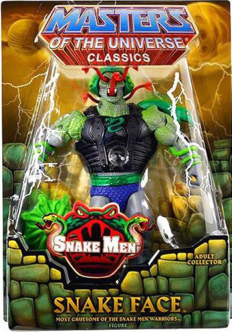 Masters of the Universe Classics Snake Men Snake Face Exclusive Action Figure