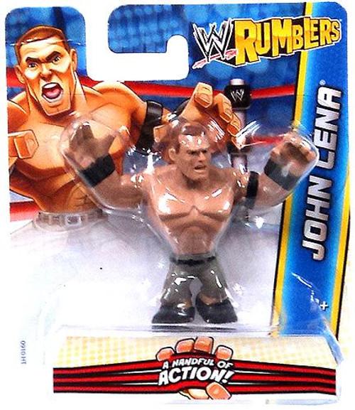 WWE Wrestling Rumblers Series 2 John Cena Mini Figure [Black Wristbands]