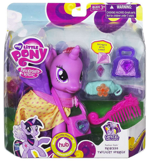 My Little Pony Friendship is Magic Crystal Empire Fashion Style Princess Twilight Sparkle Figure