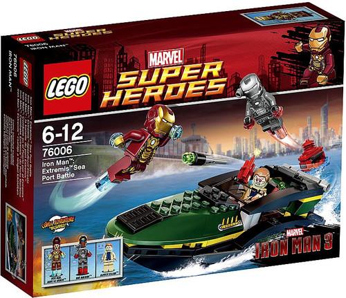 LEGO Marvel Super Heroes Iron Man 3 Iron Man: Extremis Sea Port Battle Set #76006