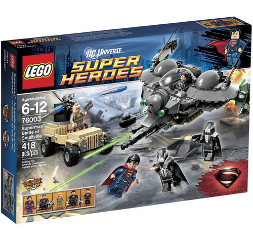 LEGO DC Universe Super Heroes Superman: Battle of Smallville Set #76003