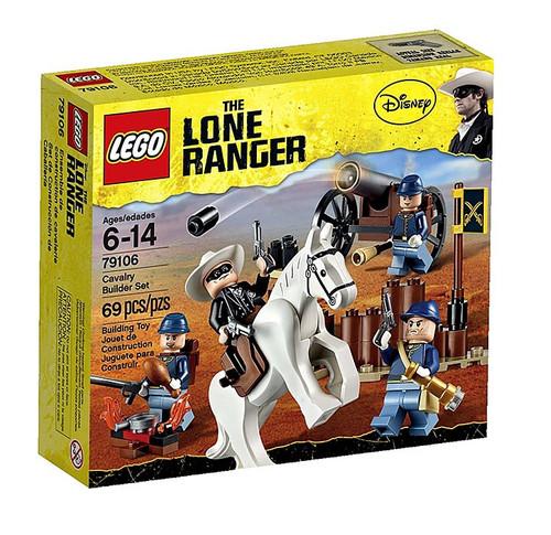 LEGO The Lone Ranger Cavalry Builder Set #79106