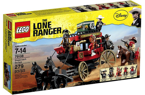 LEGO The Lone Ranger Stagecoach Escape Set #79108