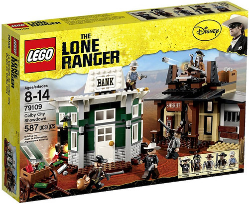 LEGO The Lone Ranger Colby City Showdown Set #79109