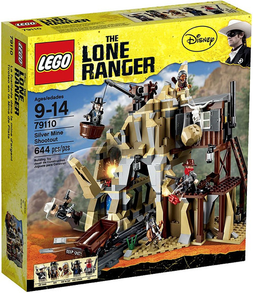 LEGO The Lone Ranger Silver Mine Shootout Set #79110