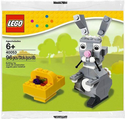 LEGO Easter Bunny with Basket Mini Set #40053 [Bagged]