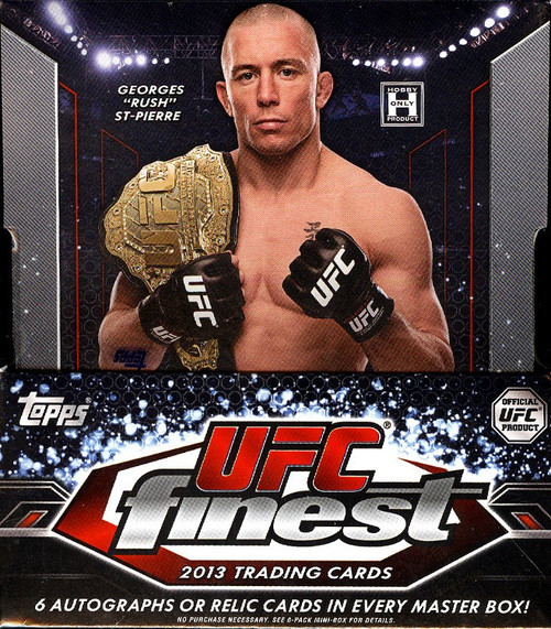 UFC Ultimate Fighting Championship 2013 Finest Trading Card Box [12 Packs]