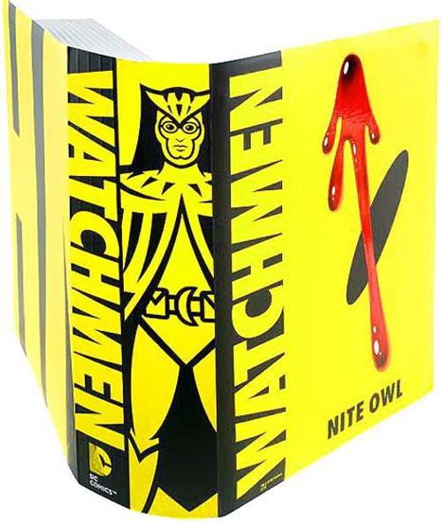 Watchmen Club Black Freighter Nite Owl Exclusive Action Figure