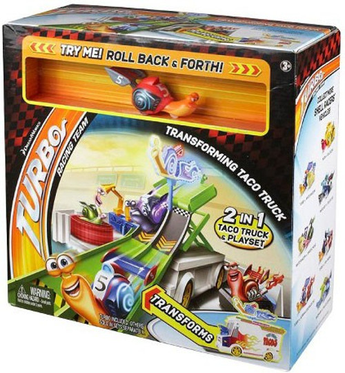 Turbo Transforming Taco Truck Playset