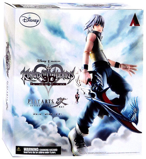 Disney Kingdom Hearts 3D Play Arts Kai Riku Action Figure [Normal Version]