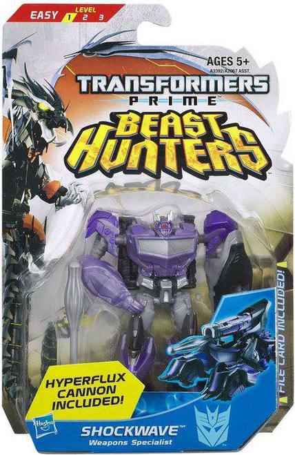 Transformers Prime Beast Hunters Shockwave Commander Action Figure