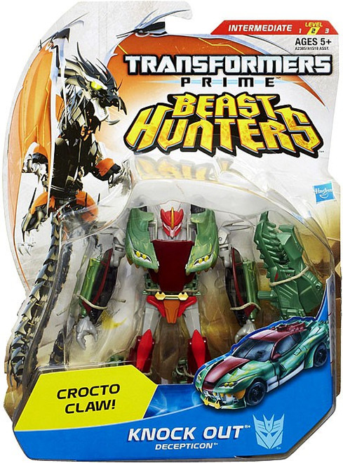 Transformers Prime Beast Hunters Knock Out Deluxe Action Figure