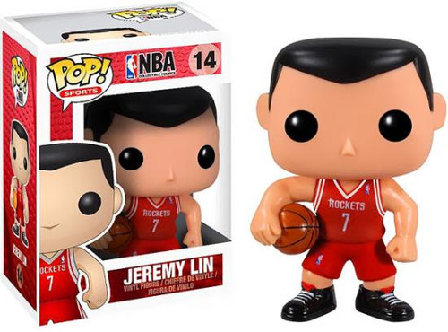 Funko NBA POP! Sports Basketball Jeremy Lin Vinyl Figure #14