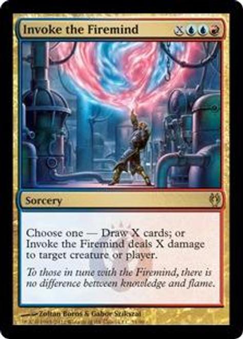 MtG Duel Decks: Izzet vs. Golgari Rare Invoke the Firemind #31