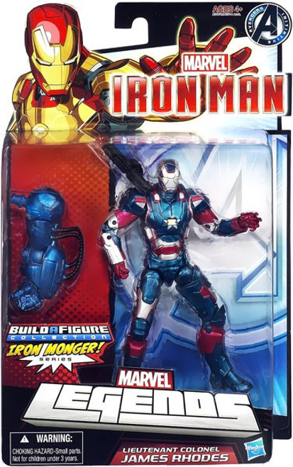 Marvel Legends Iron Monger Series Lieutenant Colonel James Rhodes Action Figure