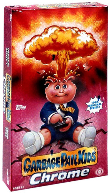 Garbage Pail Kids Topps 2013 Chrome Trading Card HOBBY Box [24 Packs]