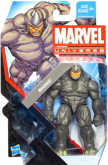 Marvel Universe Series 22 Rhino Action Figure #3