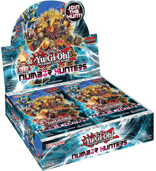 YuGiOh Trading Card Game Number Hunters Booster Box [24 Packs]