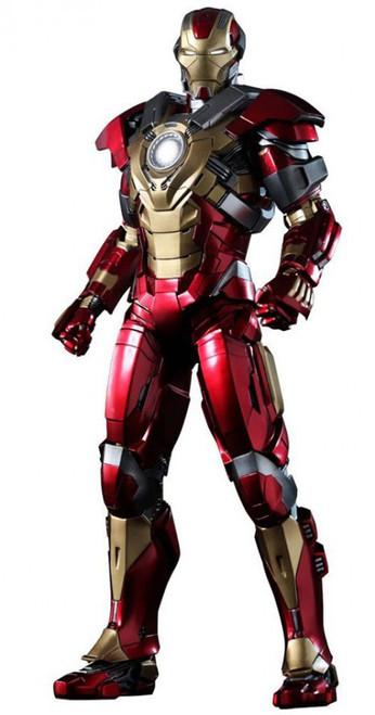 Iron Man 3 Movie Masterpiece Iron Man Mark 17 Heartbreaker Collectible Figure