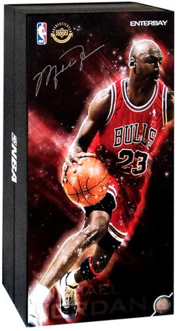 NBA Chicago Bulls Masterpiece Michael Jordan Collectible Figure #23 [Red Uniform Road Edition]
