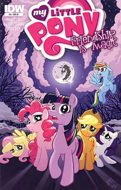 My Little Pony Friendship is Magic #6 Comic Book [Retailer Incentive]
