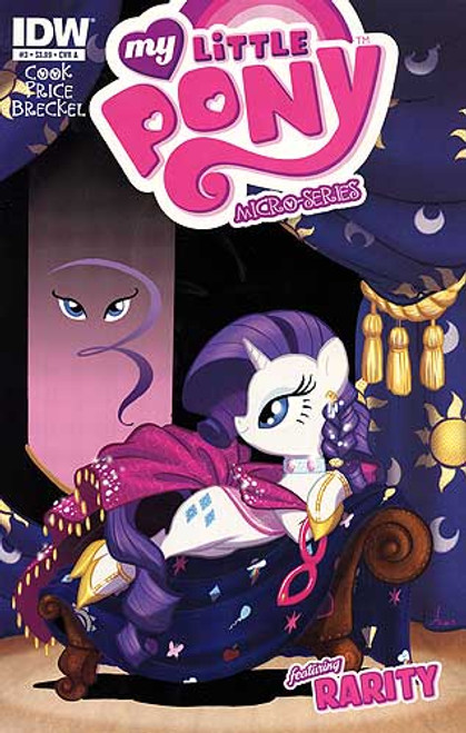My Little Pony Micro Series #3 Featuring Rarity Comic Book [Cover A]