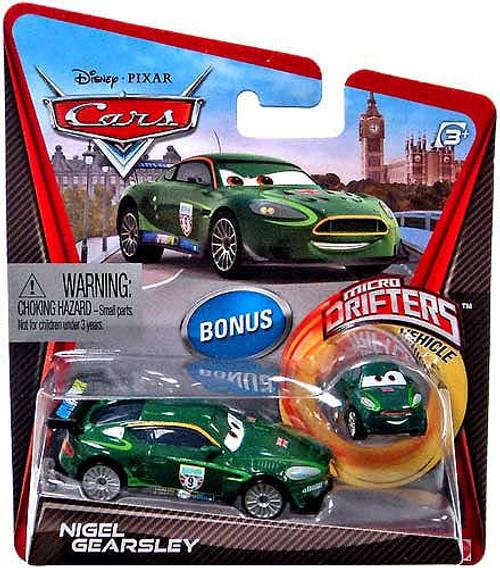 Disney / Pixar Cars Micro Drifters Nigel Gearsley Diecast Car [With Micro Drifter]