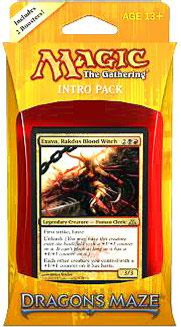 MtG Trading Card Game Dragon's Maze Rakdos Revelry Intro Pack