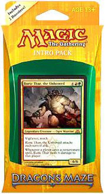 MtG Trading Card Game Dragon's Maze Gruul Siege Intro Pack