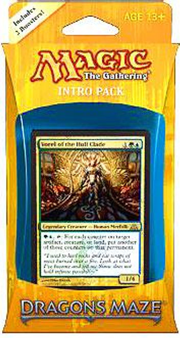 MtG Trading Card Game Dragon's Maze Simic Domination Intro Pack