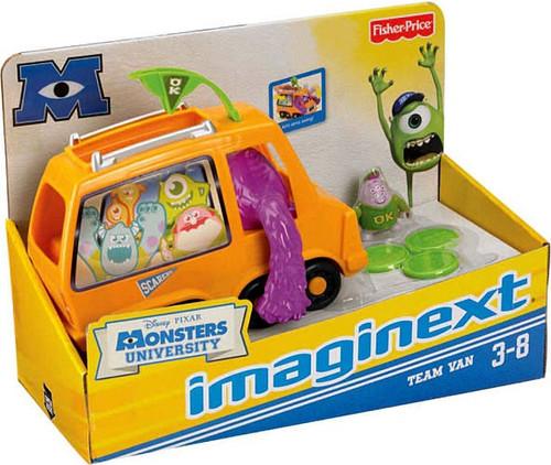 Fisher Price Disney / Pixar Imaginext Monsters University Team Van Exclusive 3-Inch Figure Set