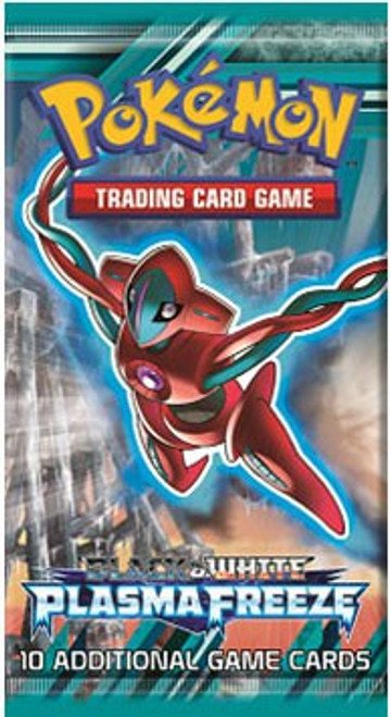 Pokemon Trading Card Game Black & White Plasma Freeze Booster Pack [10 Cards]