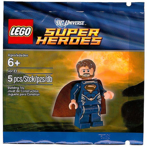 LEGO DC Universe Super Heroes Jor-El Exclusive Mini Set #5001623 [Bagged]