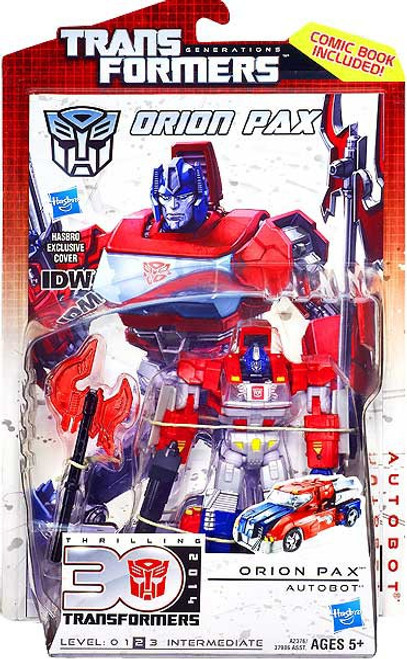 Transformers Generations 30th Anniversary Deluxe IDW Orion Pax Deluxe Action Figure