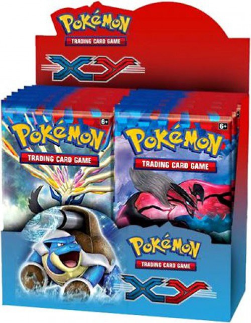 Pokemon Trading Card Game XY Base Set Booster Box [36 Packs]
