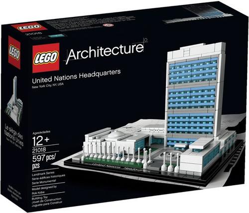 LEGO Architecture United Nations Headquarters Set #21018