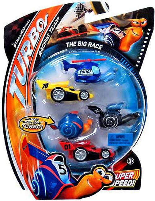 Turbo Movie Moments The Big Race Figure 5-Pack