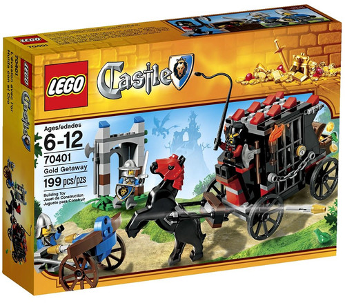 LEGO Castle Gold Getaway Set #70401