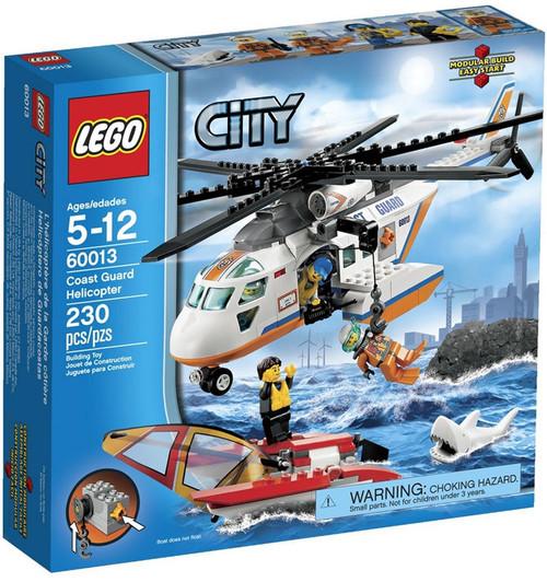 LEGO City Coast Guard Helicopter Set #60013