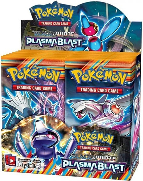 Pokemon Trading Card Game Black & White Plasma Blast Booster Box [36 Packs]