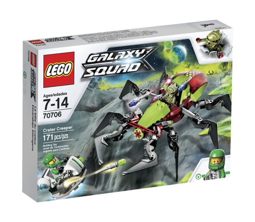LEGO Galaxy Squad Crater Creeper Set #70706