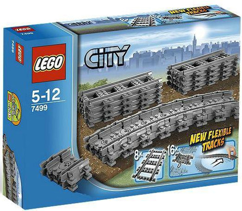 LEGO City Flexible & Straight Tracks Set #7499