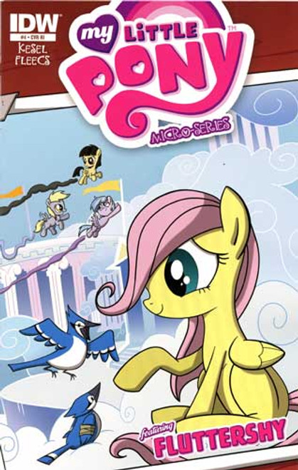 My Little Pony Micro-Series #4 Featuring Fluttershy Comic Book [Retailer Incentive]