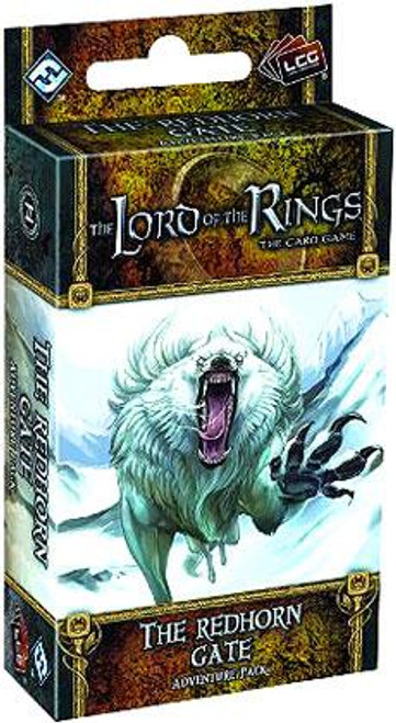 The Lord of the Rings The Card Game Lord of the Rings LCG The Redhorn Gate Adventure Pack